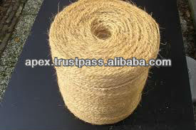 Coir yarn for horticultural industry