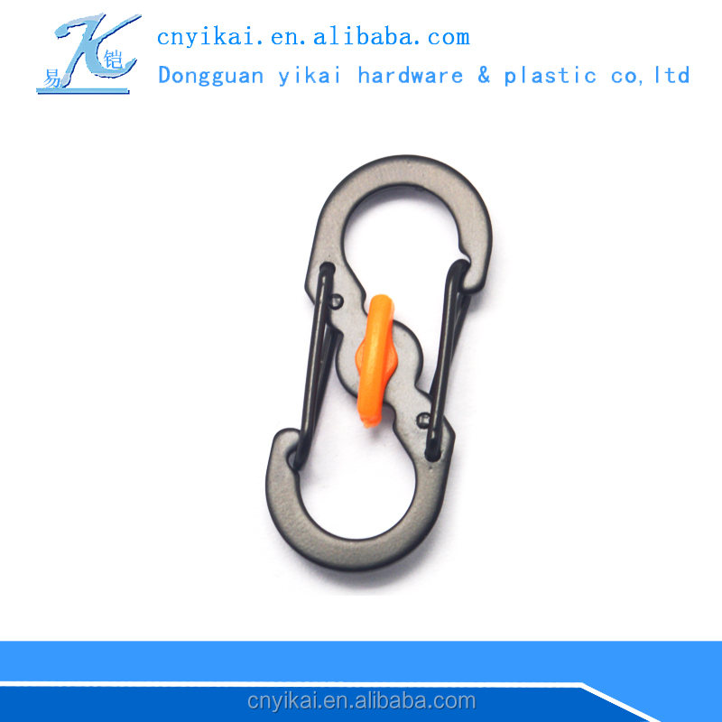 Yikai fashion metal snap hook/carabiner/key chain hook