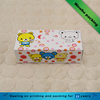 Rectangle food grade drawer shaped 4C print cartoon design baby candy dessert box