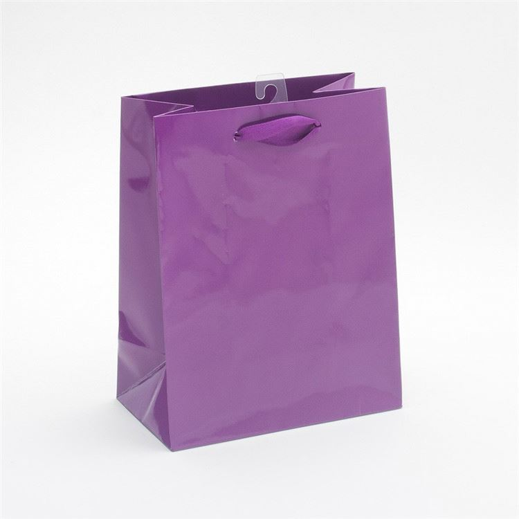 Manufacturer custom design foldable organic paper card bag