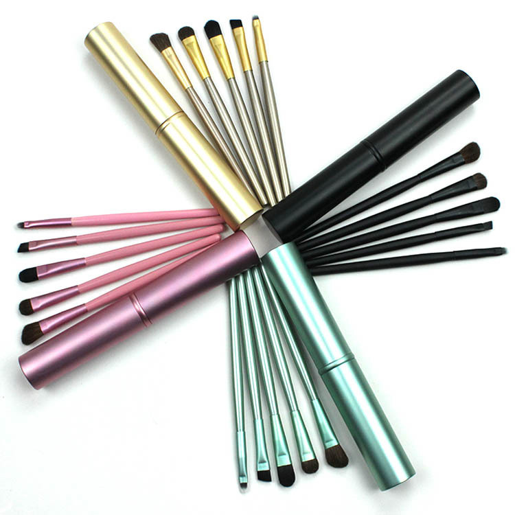 5PCS Professional eye makeup brushes sets maquiagem cosmetics make up brushes eyebrow eyes concealer pinceies brush set