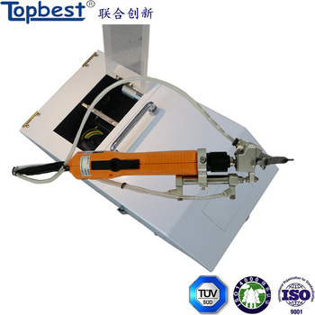 Handheld led auto screw fasten machine with feeder