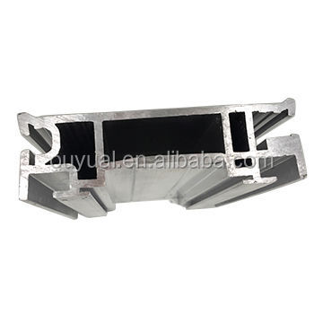 Building and Industry 6063 alloy t5 aluminum profile extrusion for industry