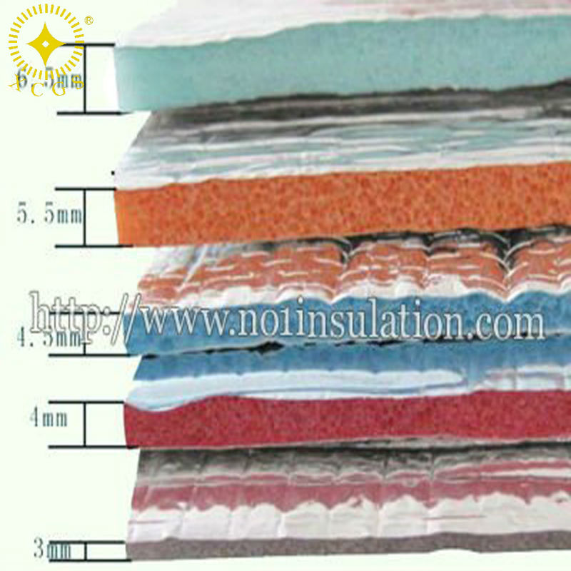 waterproof insulation/acoustic ceiling insulation/ building insulation materials