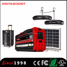 INSTABOOST lithium battery home backup power system portable solar generator