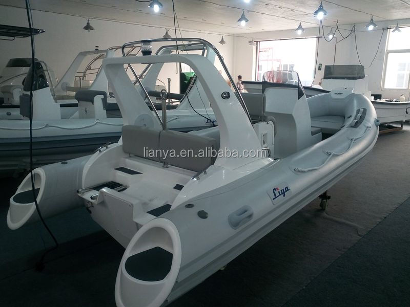 Liya 5.2m rib dinghy boat inflatable medium size boat