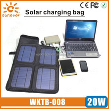 20W portable solar charger bag for Laptop