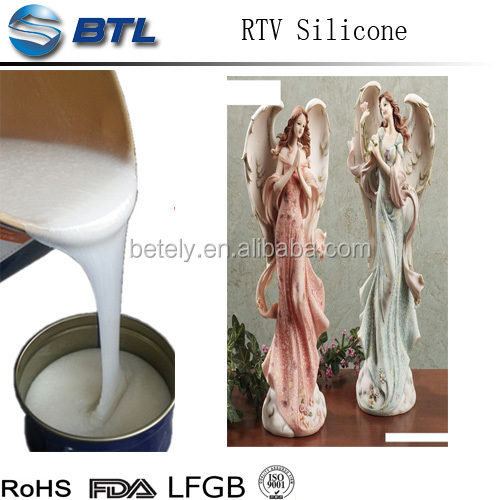 Cheap & Good Silicone Mould Making Rubber for Big Plaster Statue