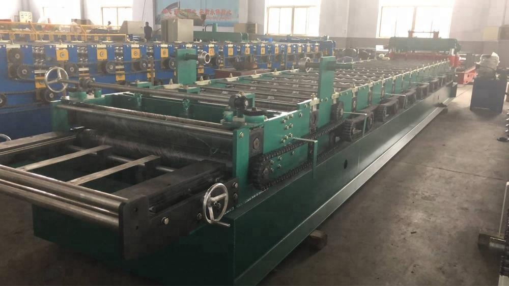 zt 1100 Glazed tile roll forming roof machine
