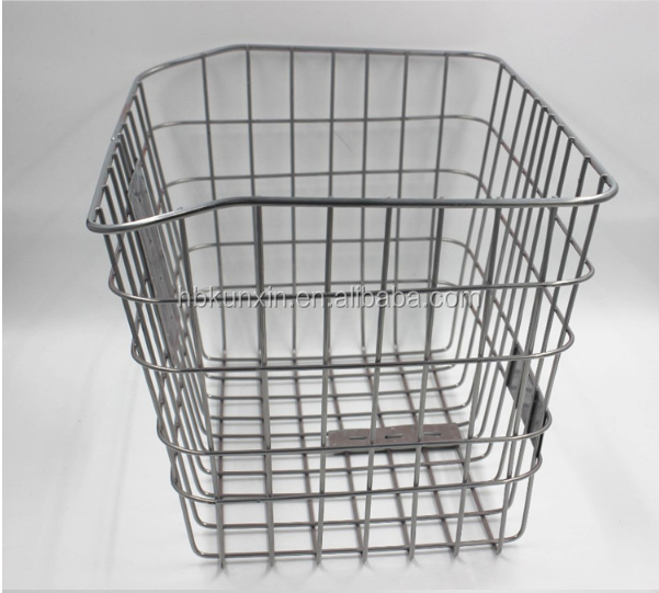 China Factory supply steel basket for bicycle modern bicycle basket