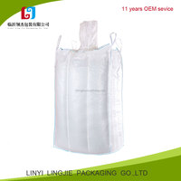 100% new material china factory price PP woven ton bag, super sand jumbo big fibc bag for large goods packing and shipping
