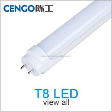 factory/office/room non-flicker t8 led tube 18w 14w 9w