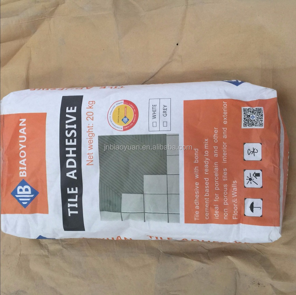 Grey Non-slip Ceramic Wall Tile Glue Thixotropic Single Component