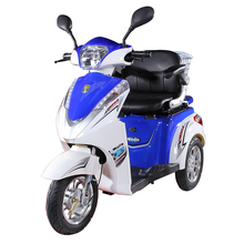 China made handicapped three wheel electric scooter cargo tricycle for sale