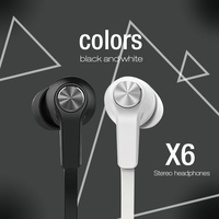 free sample high quality comfortable mobile phone stereo airline earphone noise cancelling headphone with mic for samsung iphone