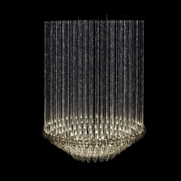 2015 New LED Chandelier Lighting, glass and crystal pendant, European, American, Asia, Middle East hot selling