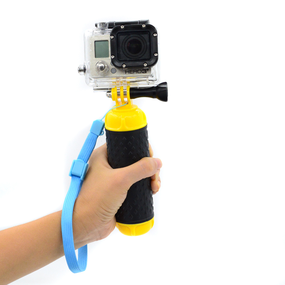 Go pro accessories Floaty bobber with strap and screw for Go pro HeroS 6/5/4/3+/3/2/1 GP81B