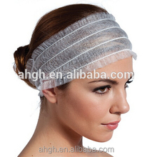 Good quality disposble nonwoven headband SPA use with competitive price EU standard