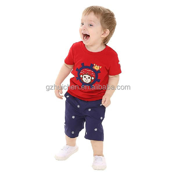 2014 Trendy T-Shirts and Shorts set for boys from MOM & BAB Baby Clothes