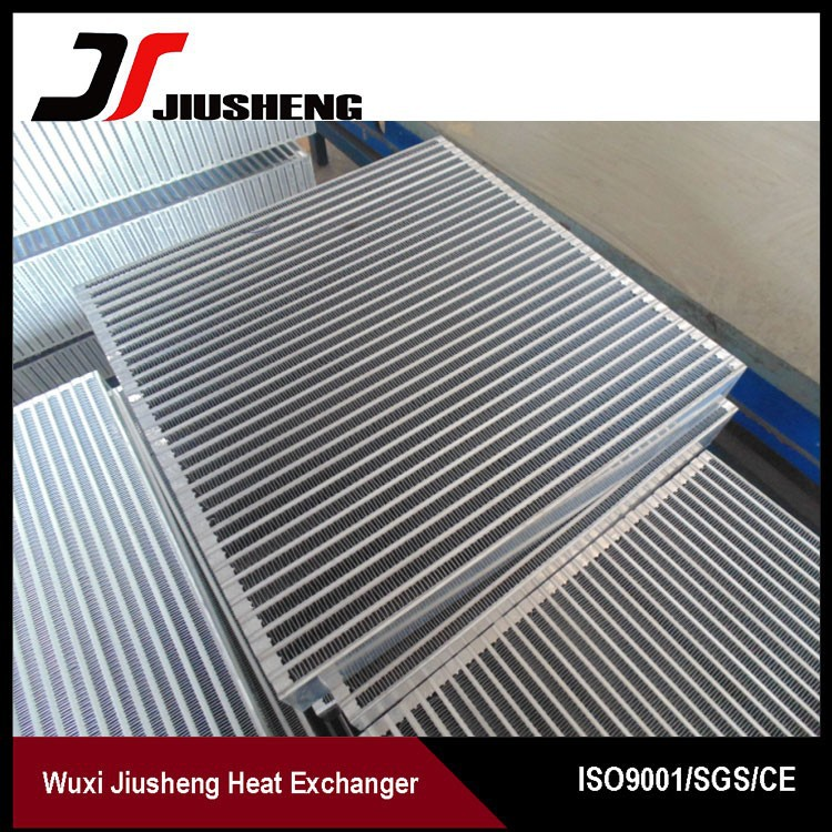 Customized Aluminum Plate Bar Cooler Radiator Core