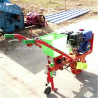 Gasoline hand operated maize seed planter