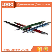 Novelty top sale stationery stainless steel pen