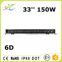 New Promotion 150W single row led light bars for offroad 4X4 boat special vehicle