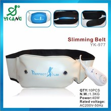Promotional slimming massage belt body shape slimming vibrating belt heated belly slimming belt
