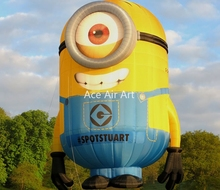 Vivid most people loved 10m hot inflatable minions