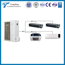 Heat recovery hot water type VRF system