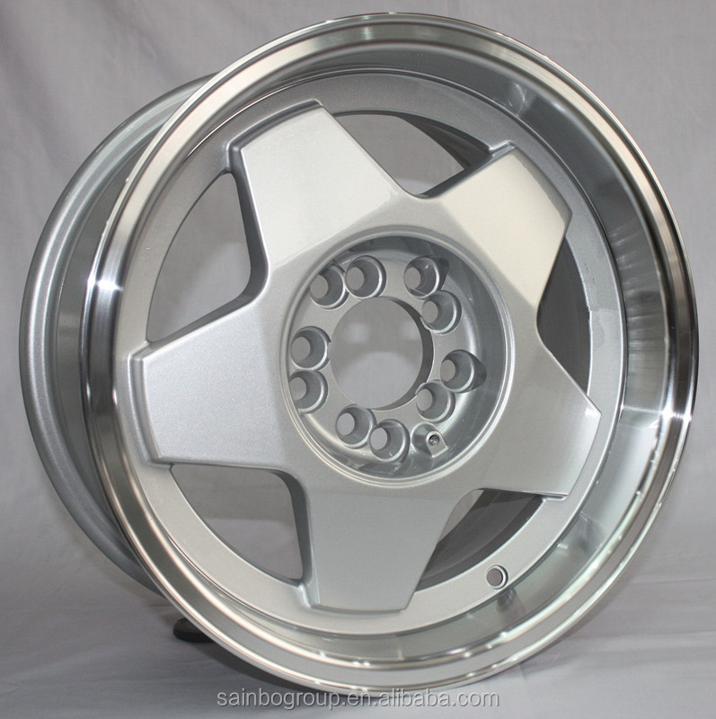 New design 16 inch alloy wheel rimcar alloy wheel rims 18*8 inch F123