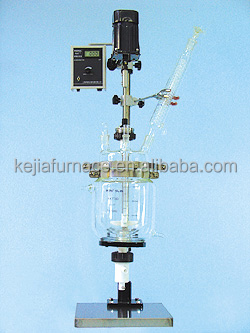 high pressure laboratory glass reactor