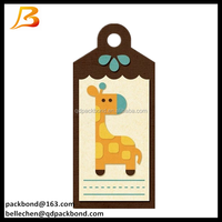 kraft paper hang tag, Swing tag with company logo printing
