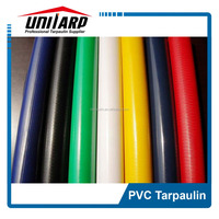 strong breaking strength 1000D 20*20 PVC Tarpaulin in roll