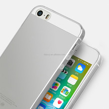 ultra-thin factory oem transparent tpu case for iphone 5