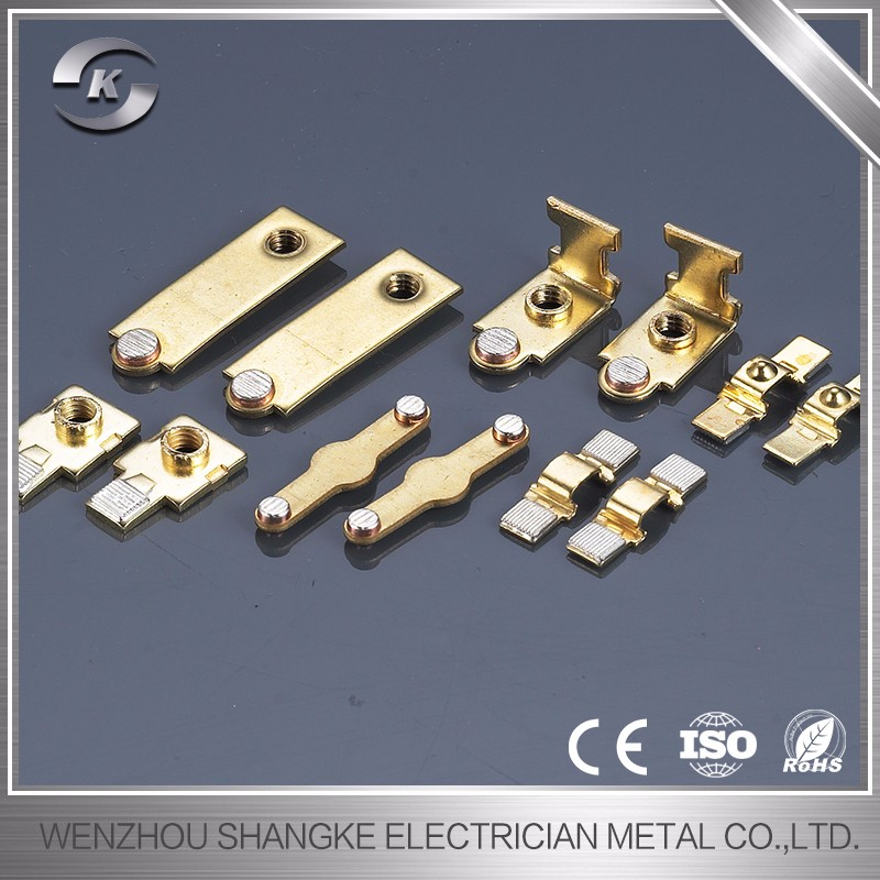 AC contactor accessories,aluminium stamping parts,OEM/ODM metal stamping parts