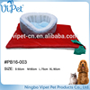 Cheap christmas pet bed and blanket set