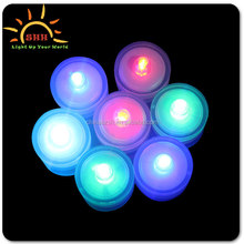 2015 New Arrival Promotion One Dozen Waterproof ultra bright Wedding Diamond small SUBMERSIBLE LED