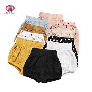 2018 Wholesale cartoon printed 0-3 years baby underwear