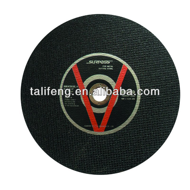 115mm For stainless steel Aluminum Oxide abrasives cut off / of wheel