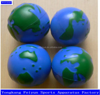High Quality Eco-friendly Promotional PU Earth Balls