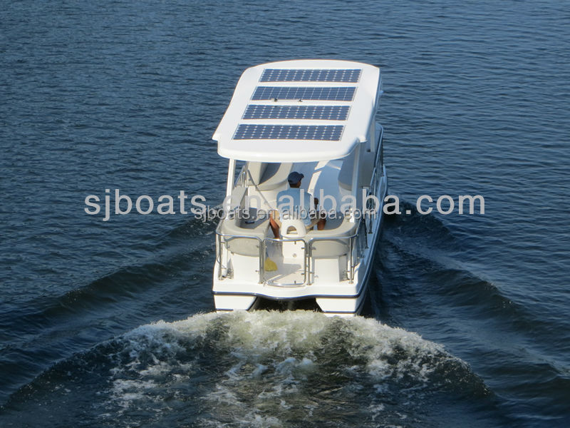2014 high quality used solar pedal boats for sale