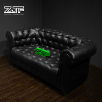 ZJF POP modern furniture leather sofa retail