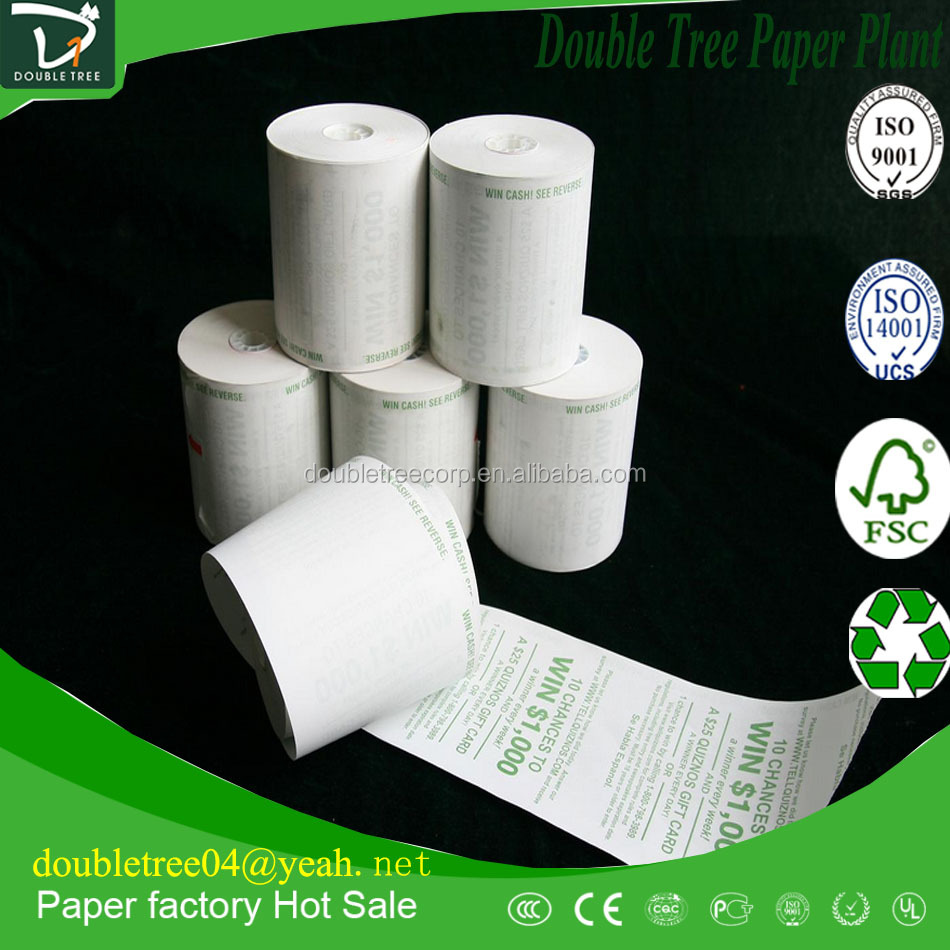 BPA FREE 80x80mm TOP thermal paper Roll water/oil/alcohol resistance