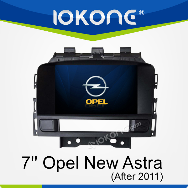 in dash car multimedia system for new OPEL ASTRA J