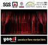 flame retardant velvet fabric for stage curtain