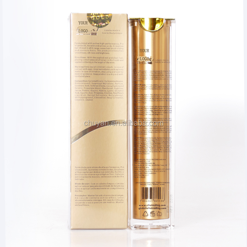 OEM professional salon hair care products natural brazilian keratin hair oil hair growth serum