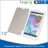 gold 7inch mtk6572 512+4 tablet with bluetooth andriod big speaker big battery andriod 4.0 3g tablet pc