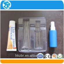 Wholesale Fashionable Mini Tray Disposable Plastic Products Clear beautify cosmetic box