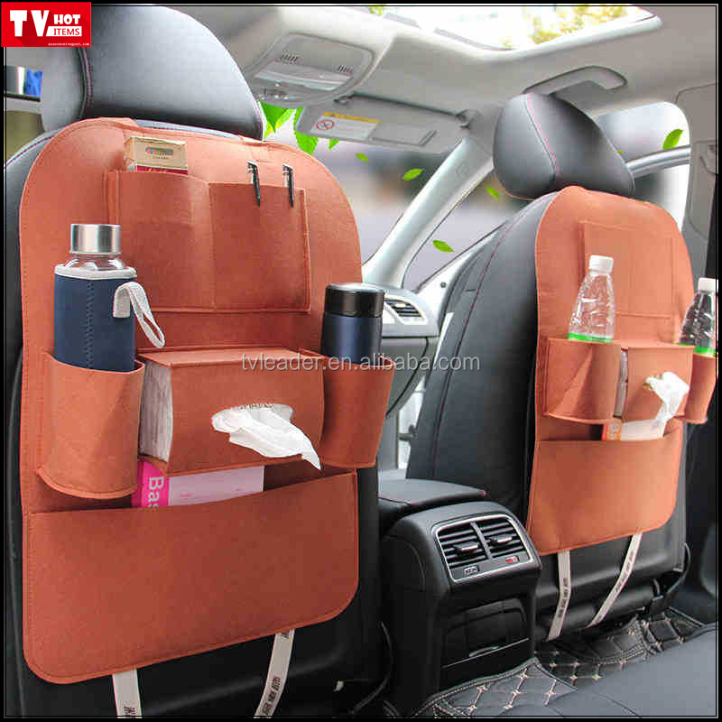 Favorable Car Seat Back Hanging Storage Bag with good quality, Auto Hanging Organizer